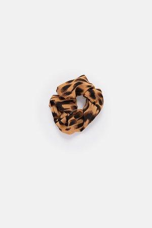 Kloss Leopard Scrunchie – Adika