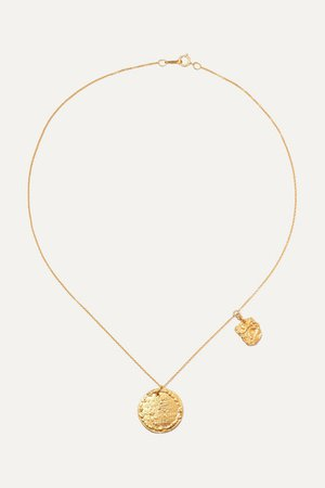 Alighieri | Summer Night gold-plated necklace | NET-A-PORTER.COM