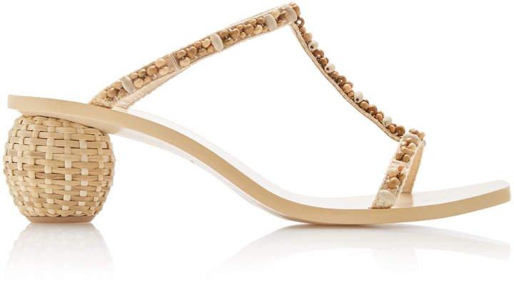 Clio Raffia Sandals