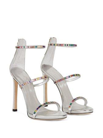 Giuseppe Zanotti Harmony Colorful Sandals - Farfetch