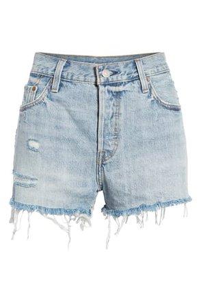 Levi's® '501®' Cutoff Denim Shorts (Waveline) | Nordstrom