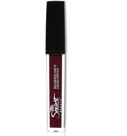 The Sexiest Beauty Sex-Proof Matte Liquid Lipstick Werk!