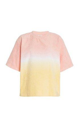 Dyed Cotton-Terry T-Shirt By Terry | Moda Operandi