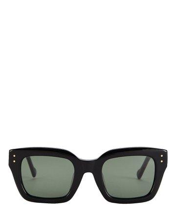 Le Specs Luxe Skeptic Square Sunglasses | INTERMIX®