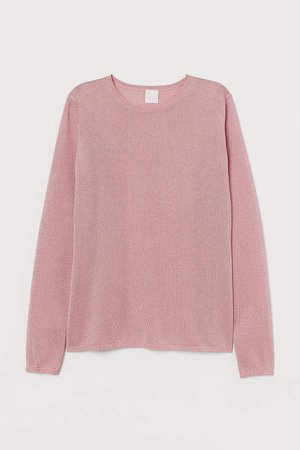 Glittery Top - Pink