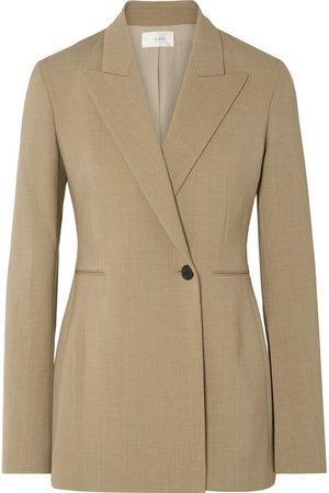 The Row | Ciel wool-blend crepe blazer | NET-A-PORTER.COM