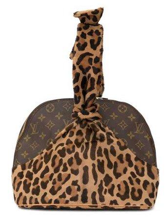 LOUIS VUITTON X ALAIA Leopard Alma Handbag