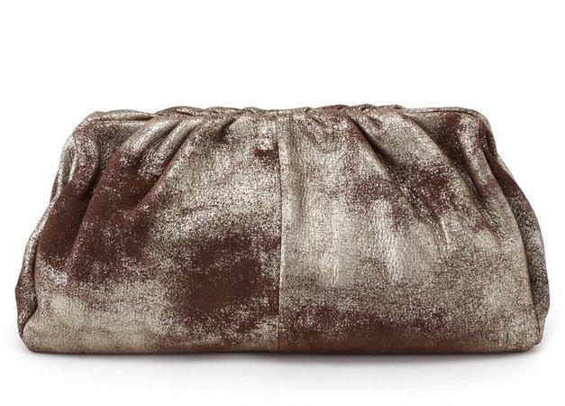Angela Leather Clutch