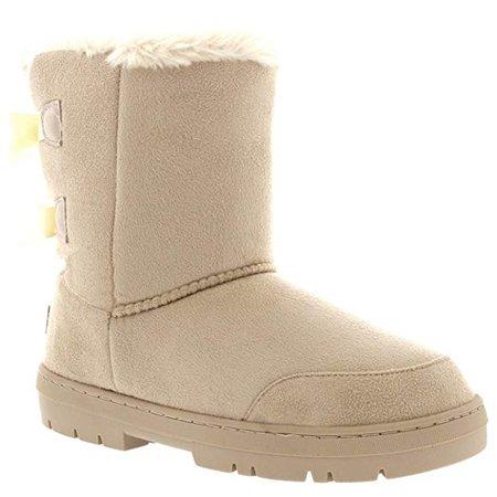 Amazon.com | Womens Twin Bow Tall Classic Waterproof Winter Rain Snow Boots | Boots