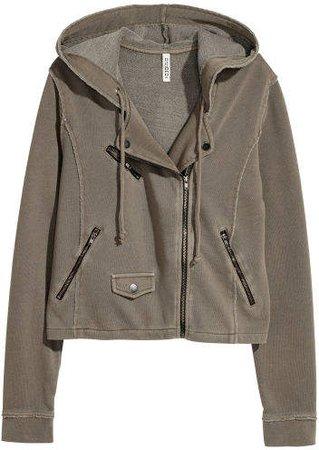 Sweatshirt Jacket - Green