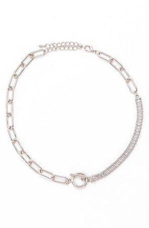 Petit Moments Demie Crystal Chain Necklace | Nordstrom
