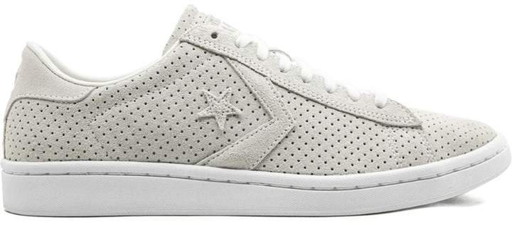 PL LP OX perforated sneakers