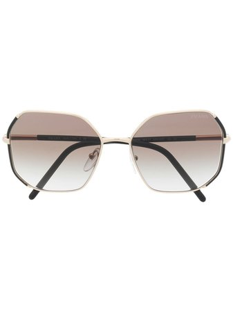 Prada, square-frame Sunglasses