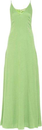 Emilia Wickstead Heber Sleeveless Silk-Blend Dress