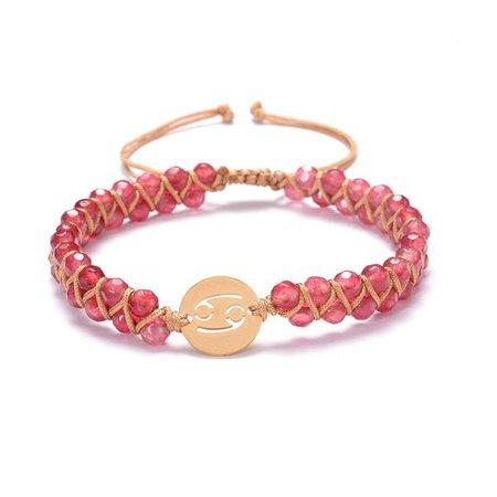 Cancer Zodiac Bracelet — Cape Diablo
