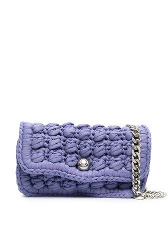 Bottega Veneta hand-crocheted shoulder bag - FARFETCH