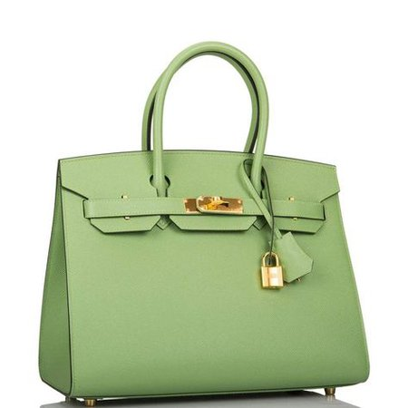 hermes birkin bag green