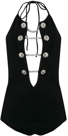 Alessandra Rich embellished one piece