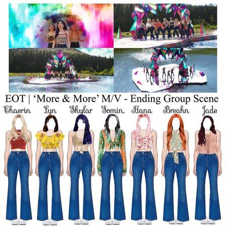 EOT | 'More & More' M/V - Ending Group Scene