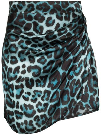 GAUGE81 Sendai Leopard Print Mini Skirt - Farfetch