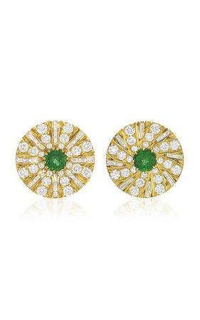 Crystal Statement Earrings By Oscar De La Renta | Moda Operandi