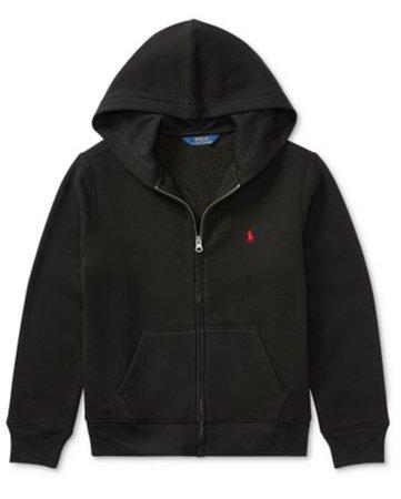 Polo black sweater