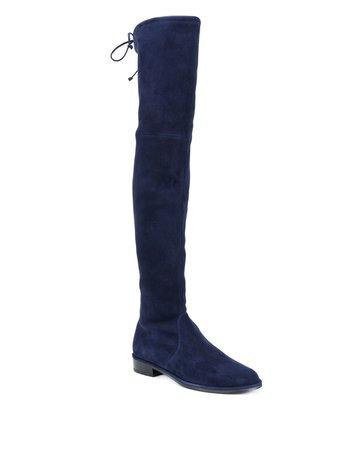 Stuart Weitzman Lowland Over-The-Knee Stretch Boots Aw20 | Farfetch.Com