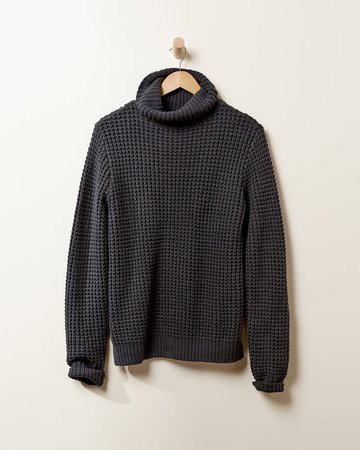 Men's Simply Comfy Turtleneck Sweater - Cozy Tops | UpWest