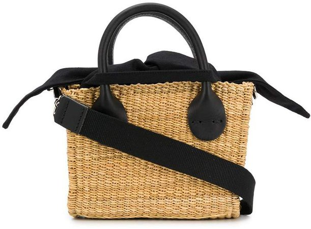 Charlies straw tote bag