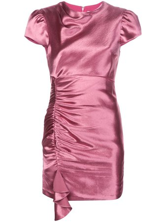 Cinq A Sept Natalia Ruched Mini Dress - Farfetch