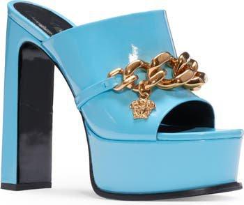 Versace Medusa Chain Platform Slide Sandal (Women)   Nordstrom