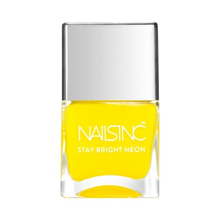 yellow nail polish neon