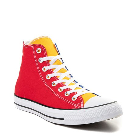Converse Chuck Taylor All Star Hi Sneaker - Primary Color-Block | Journeys