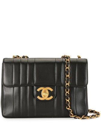 Chanel Pre-Owned 1995 Mademoiselle CC Shoulder Bag - Farfetch