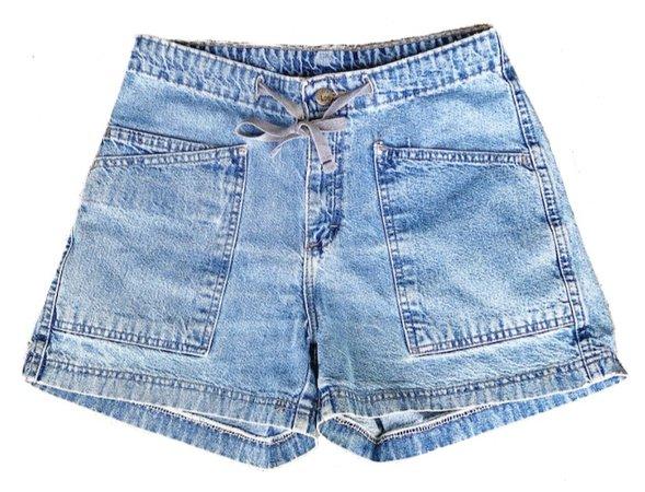 jean utility shorts