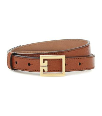 Double G Leather Belt | Givenchy - Mytheresa