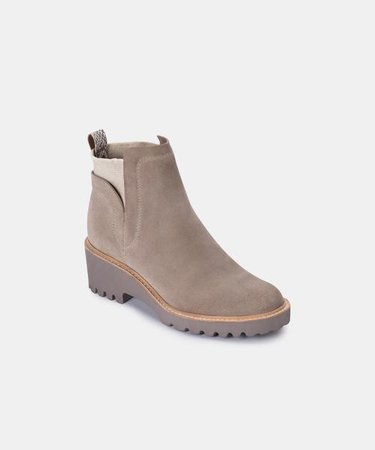 HUEY BOOTIES IN ALMOND – Dolce Vita
