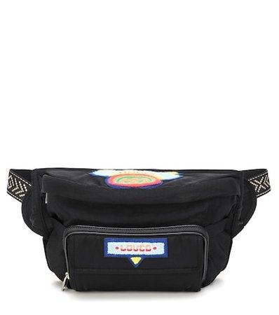 Embroidered belt bag
