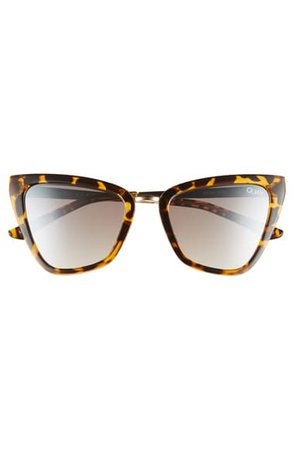 Quay Australia Reina 52mm Mini Cat Eye Sunglasses | Nordstrom