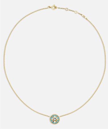dior rose des vents necklace