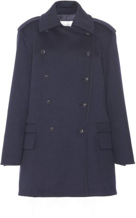 Max Mara Nuvola Cashmere Double-Breasted Coat