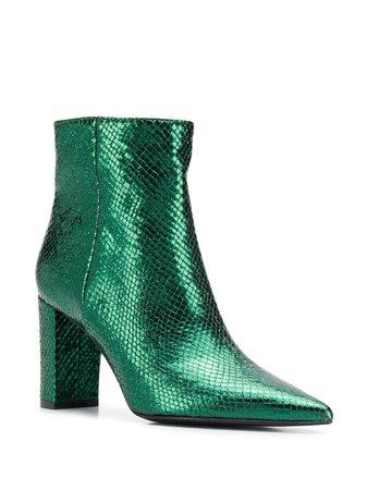 Marc Ellis Block Heel Ankle Boots | Farfetch.com