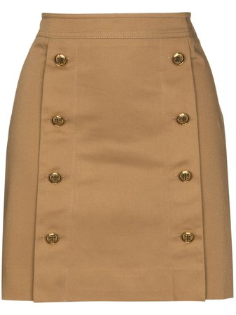 Givenchy high-cotton Mini Skirt - Farfetch
