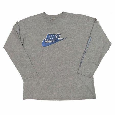 Vintage90s Nike Logo Sweat shrit Size.L FreeShipping   Etsy
