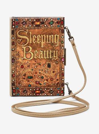 Loungefly Disney Sleeping Beauty Storybook Clutch Bag