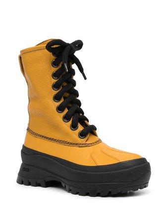 Jil Sander lace-up Leather Boots - Farfetch