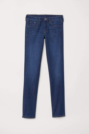 Skinny Low Jeans - Blue