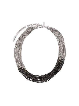 Iosselliani Black Hole Sun necklace