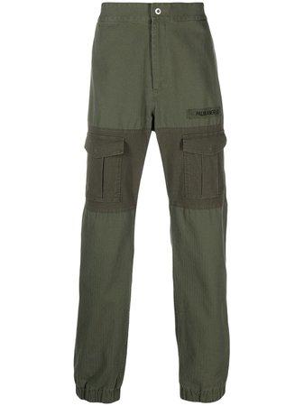 Palm Angels logo-patch Cargo Trousers - Farfetch