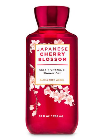 Japanese Cherry Blossom Shower Gel   Bath & Body Works